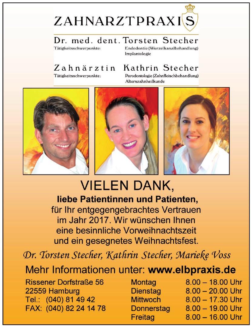 Zahnarztpraxis Dr. med. dent Torsten Stecher, Zahnärztin Kathrim Stecher