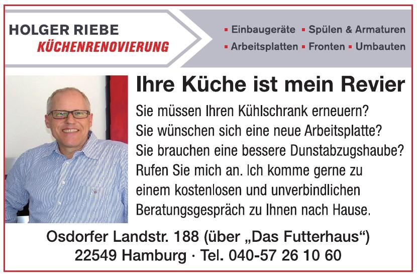 Holger Riebe - Küchenrenovierung