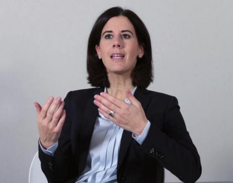 Bundestagsneuling: Katja Suding
