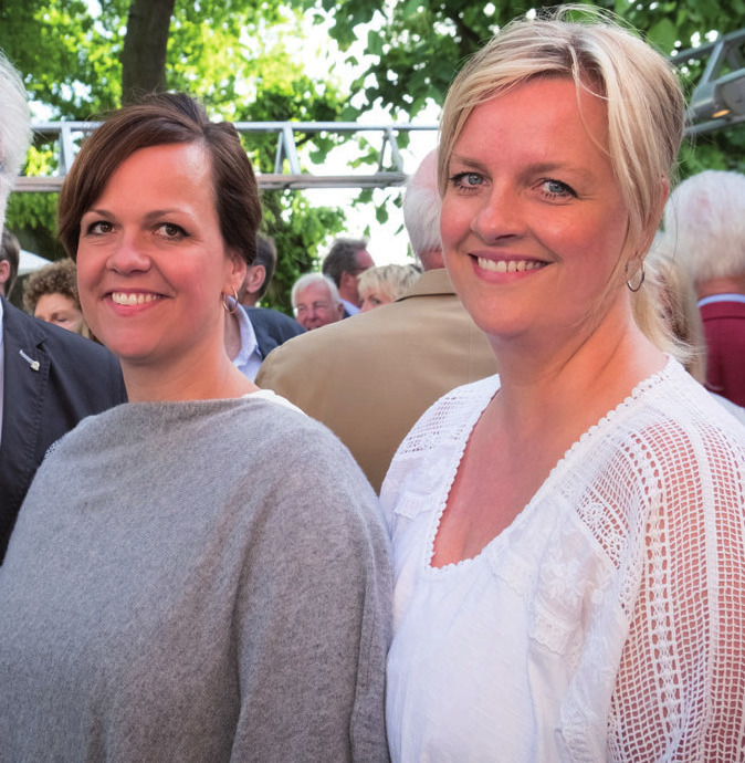 Schümann-Töchter Nadine Brooks und Jana Schellhorn