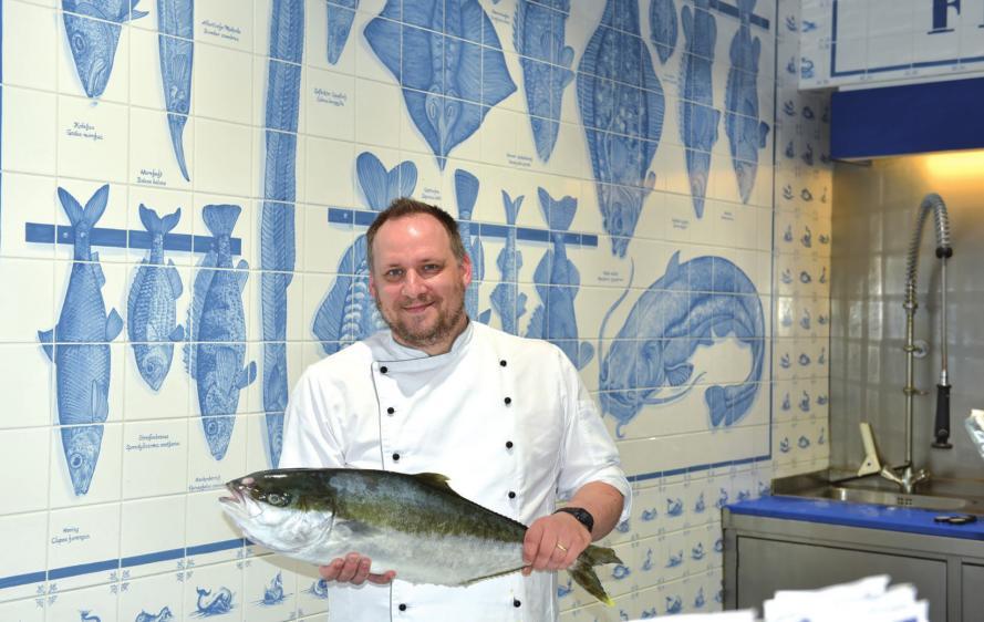 Ivan Pagel kocht seit sieben Jahren im Bistro des Frischeparadieses