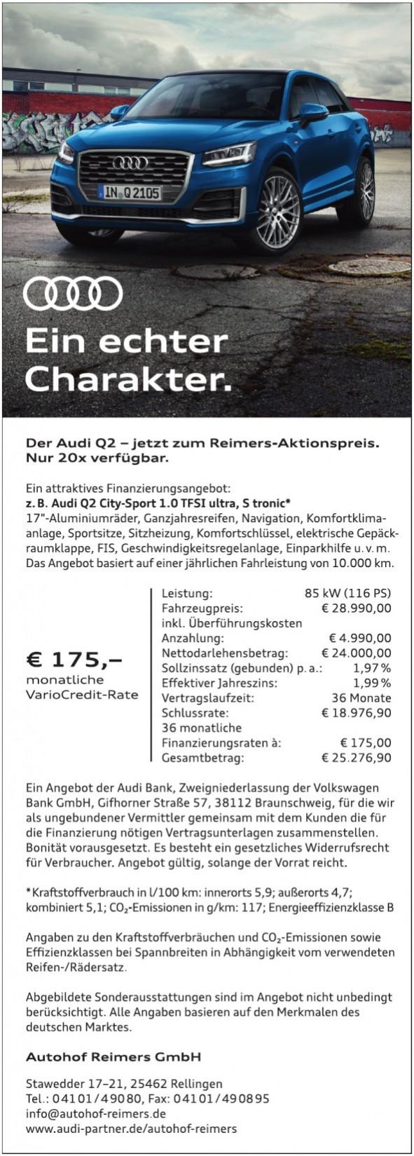 Autohof Reimers GmbH in Rellingen