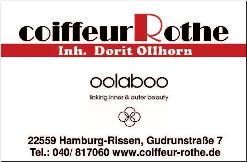Coiffeur Rothe Inhaberin Dorit Ollhorn