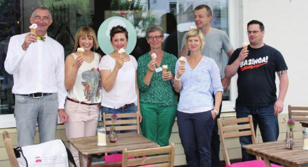 Eisprinzessinnen fördern Leuchtturm Hamburg e. V. mit einer eigenen Eiskreation