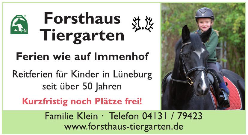 Forsthaus Tiergarten