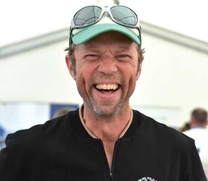 Deutschlands bester Polospieler Thomas Winter