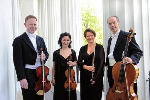 Auch Werke unbekannter Komponisten erklingen im Jenisch Haus FOTO: MARIANNE MENKE