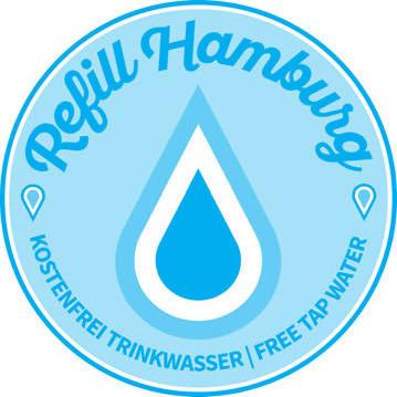 Auf das Logo achten und kostenlos Wasser zapfen