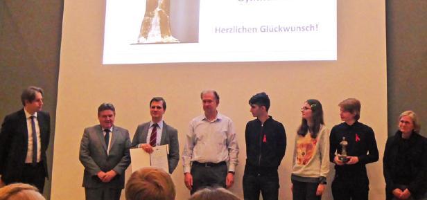 Die Verleihung des Schul-Oscars fand im Dezember statt