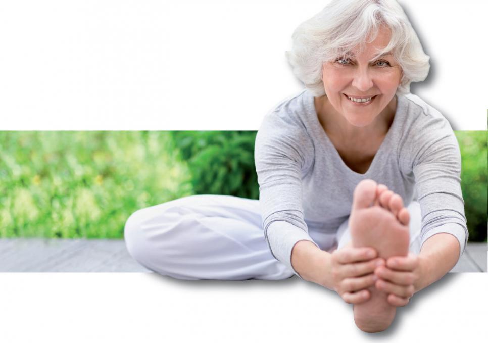 Da sich im Alter die Muskelkraft reduziert, macht Fitness belastbarer und bringt nach und nach ein besseres Lebensgefühl. FOTO: JD-PHOTODESIGN_FOTOLIA.COM