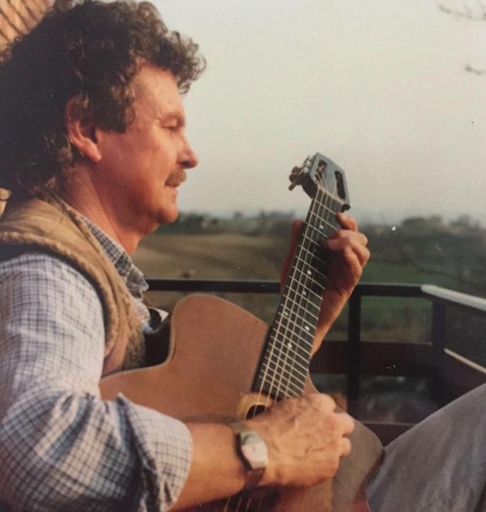 Abschied von einem Freund: Rolf Zuckowski mit John O'Brien Docker