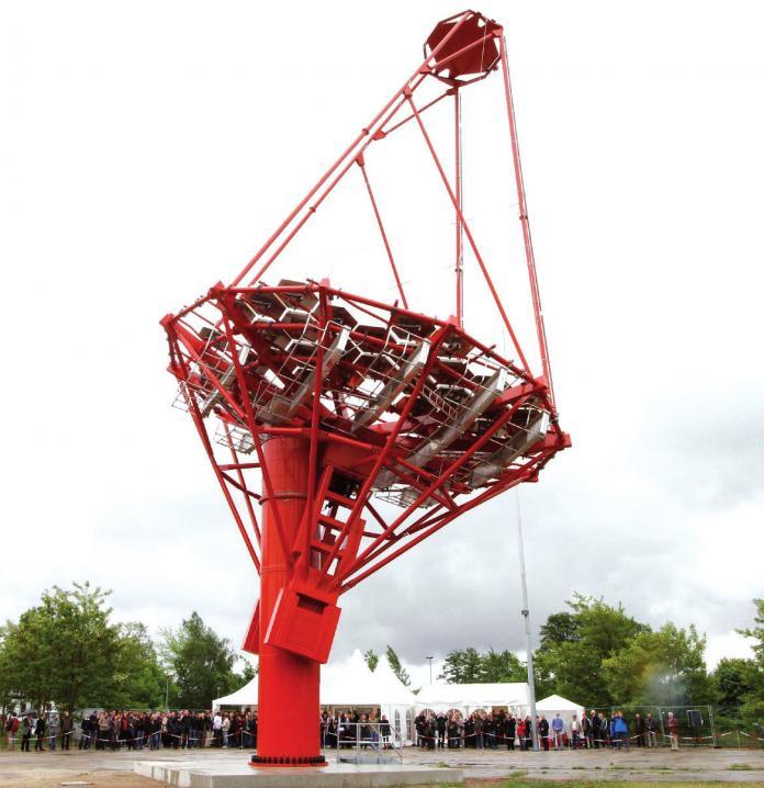 Auch das Gammateleskop in Berlin-Adlershof basiert auf DESY-Forschung