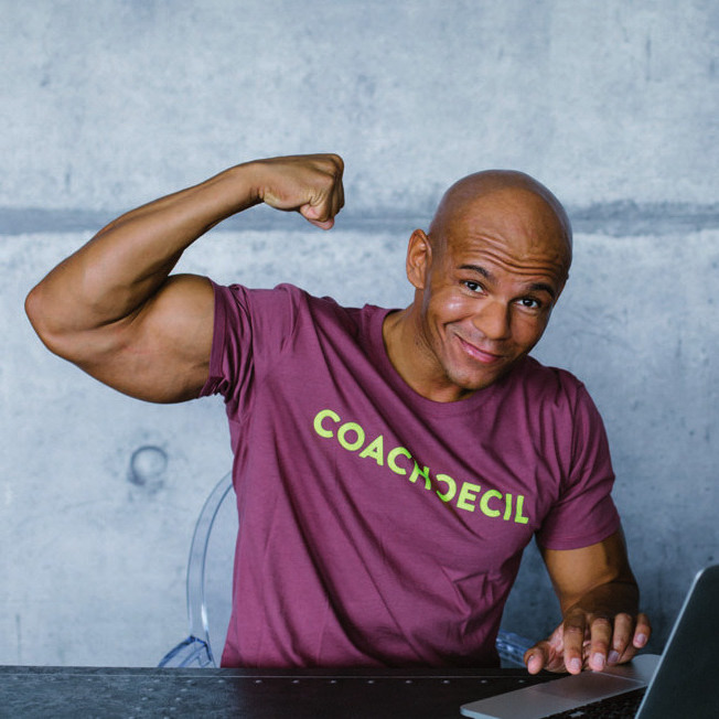 Cecil Egwuatu, Online-Fitnesscoach und ehemaliger Profi-Basketballspieler
