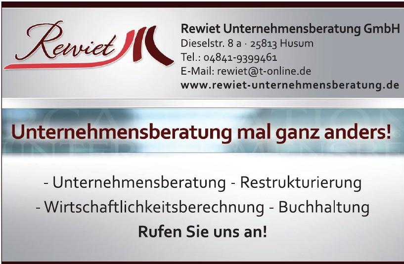 Rewiet Unternehmensberatung GmbH