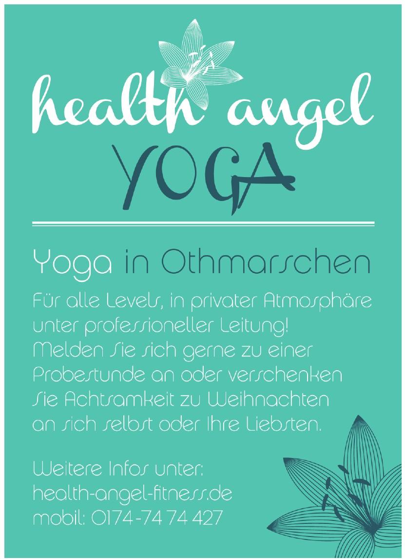 health angel Yoga
