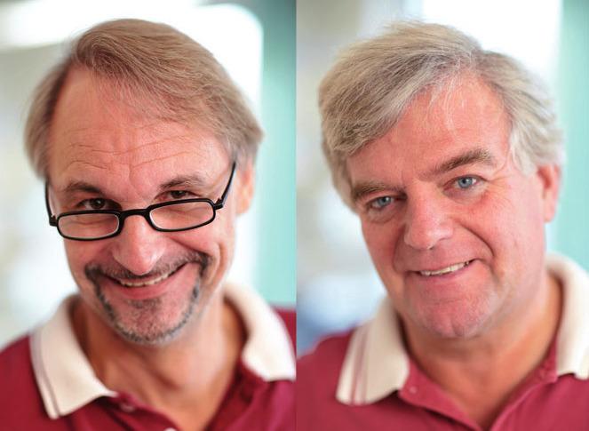 Dr. Andreas Zander und Dr. Hans-Ulrich Packheiser
