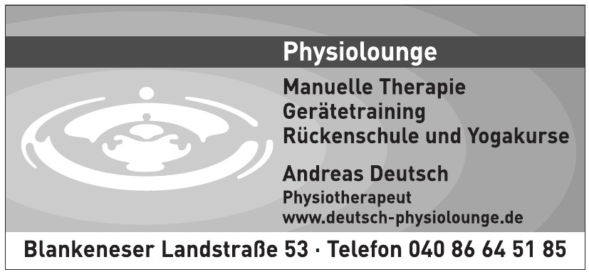 Physiolounge - Andreas Deutsch