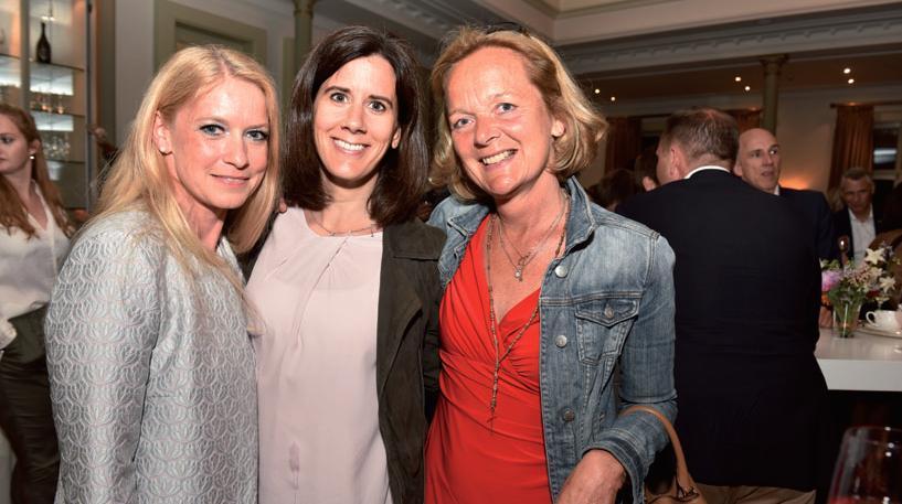 Drei von der FDP: Tamara Gomille, Katja Suding, Anna von Treuenfels-Frowein