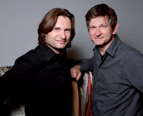 Simon und Stephen Helm