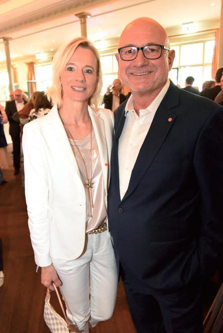 Petra Schulze und Jürgen Deforth (Audi)