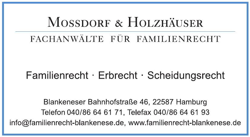 Mossdorf & Holzhäuser
