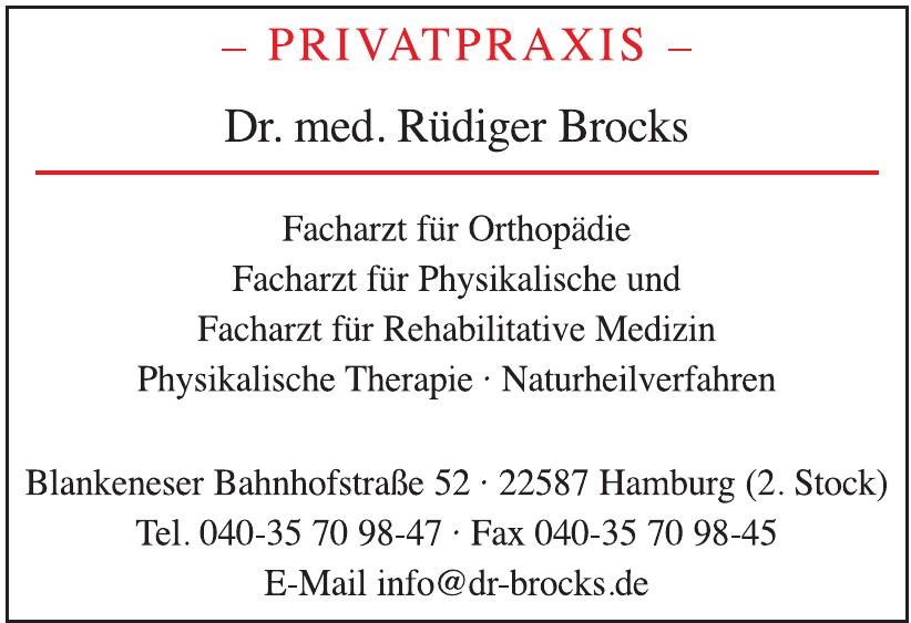 Privatpraxis - Dr. med. Rüdiger Brocks