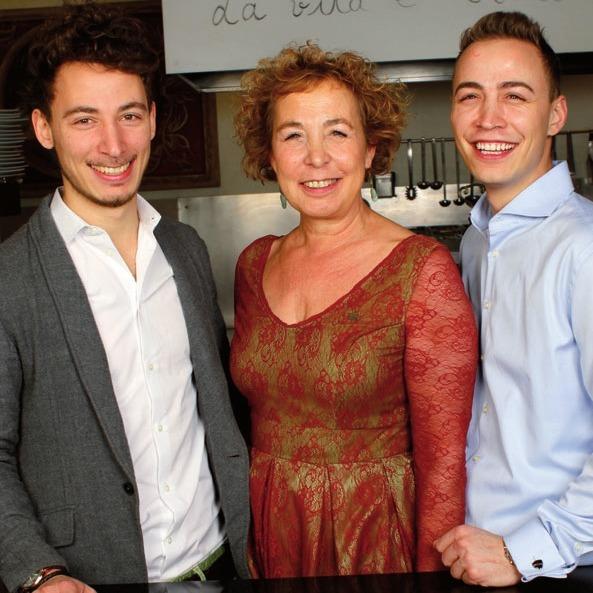 Linus, Sylvia und Mirko Klasen vom L'unico: Gastronomen aus Leidenschaft