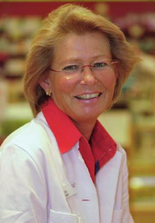 Apothekerin Frauke Haufe berät auch zum Thema Abnehmen