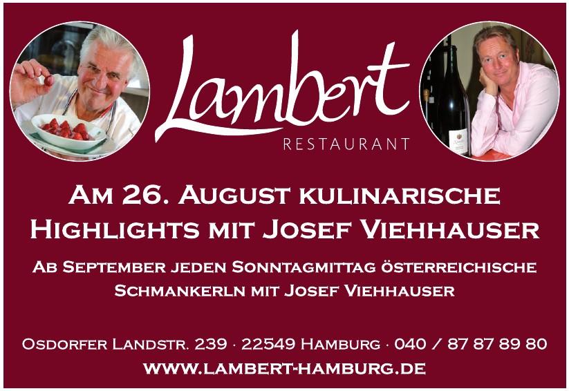 Lambert Restaurant