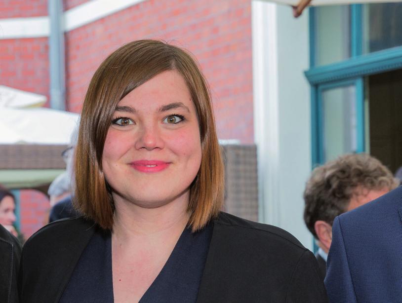 Katharina Fegebank ist seit April 2015 Senatorin für Wissenschaft, Forschung und Gleichstellung