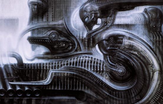 Giger-Werk von 1980