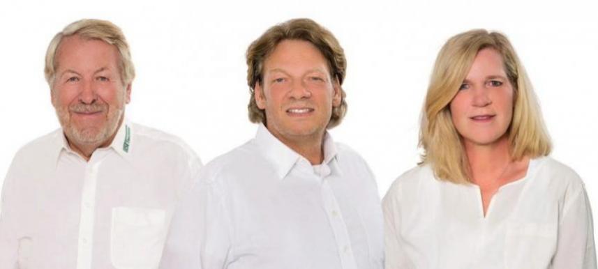 Familienbetrieb: Hartmut, Sascha und Tanja Thierfelder