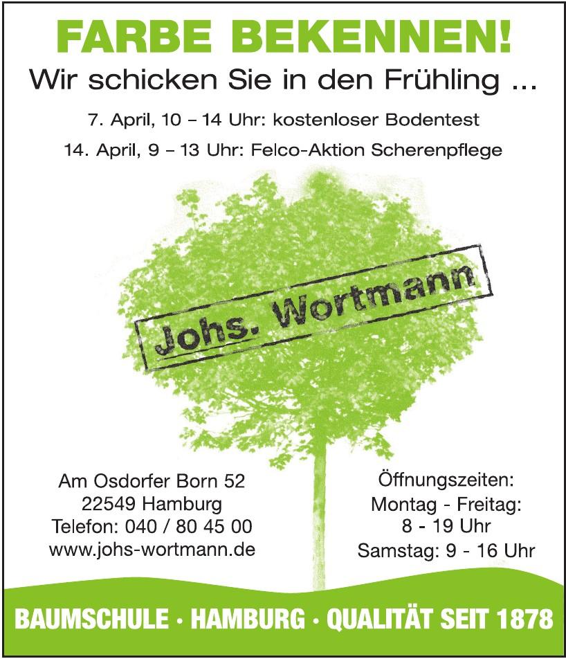 Johs. Wortmann  Pflanzen Gartenbedarf GmbH