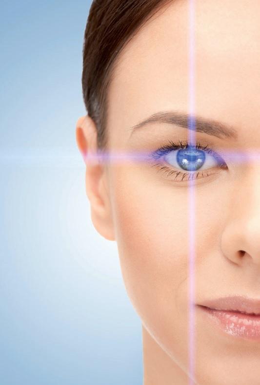 Die Sehkraft des Auges im Fokus