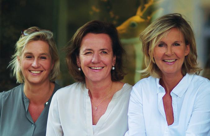 Alexandra Kenzler, Barbara König und Monika Carstens