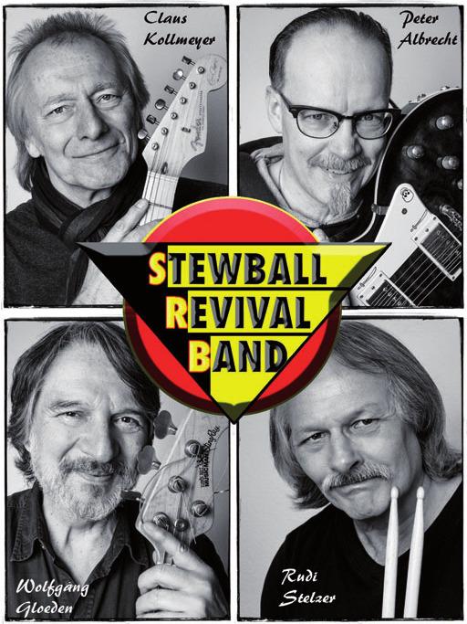 Die Stewball Revival Band spielt Klassiker des Rock