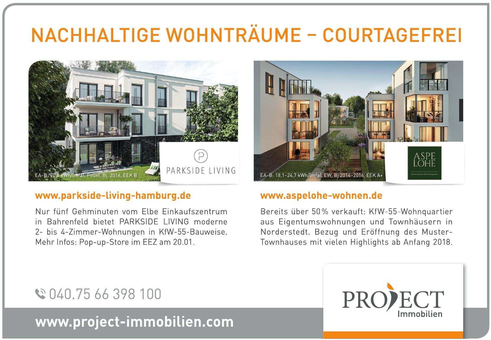 Projekt Immobilien