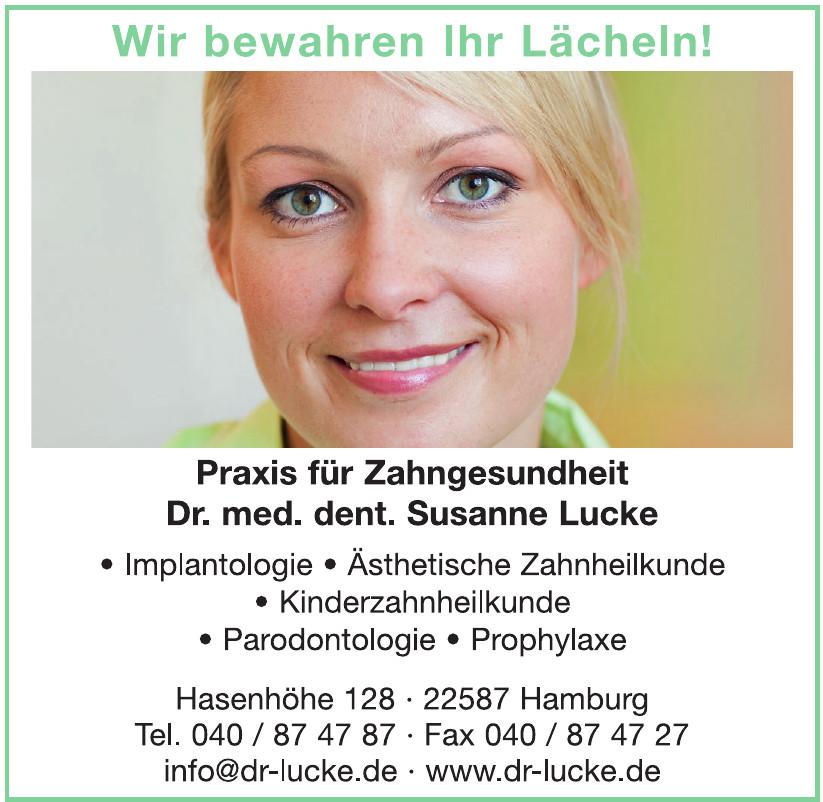 Praxis für Zahngesundheit Dr. med. dent. Susanne Lucke