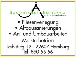 Baugeschäft Ramcke e.K.
