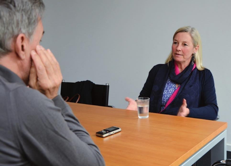 Ulrike von Albedyll im Gespräch mit dem KLÖNSCHNACK