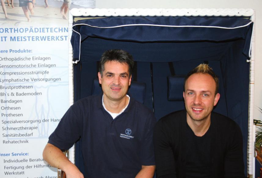 Andreas Wortmann und Tim Beyle