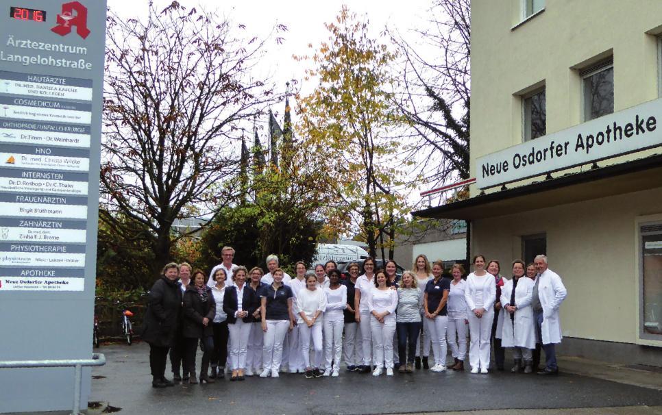 Sie alle arbeiten im Ärztezentrum: Fachärzte, Apotheker und ihre MitarbeiterFOTO: CRISTINA PRINZ