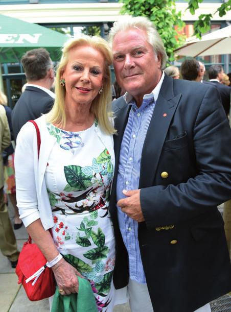 Dr. Rüdiger Brocks mit Friederike Weigel-von Wege