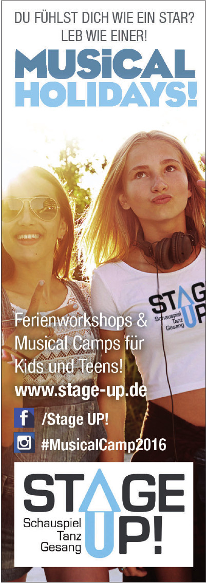 Stage UP! Musicalschule