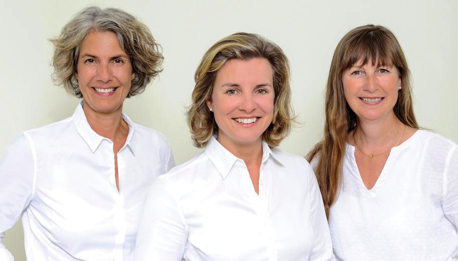 Dr. Stefanie Kanehl (Mitte) und ihr TeamFOTO: ANN-CHRISTINE KRINGS PHOTOGRAPHY