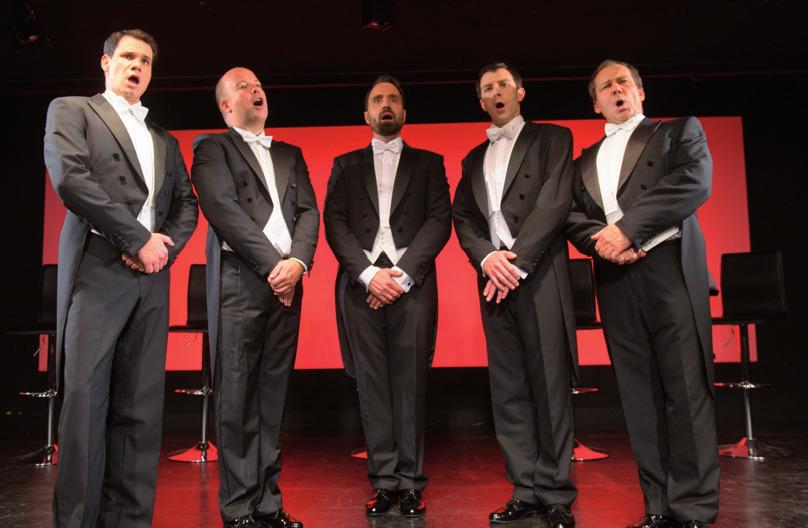 "Die ""Comedian Harmonists""FOTO: HANS-JÜRGEN WEGE"