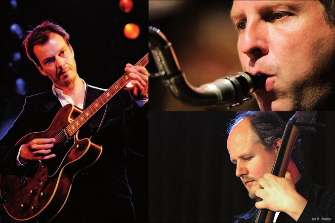 Jesse van Ruller, Frank Delle und Ingmar Heller sind JazzAmen FOTOS: BRUMP