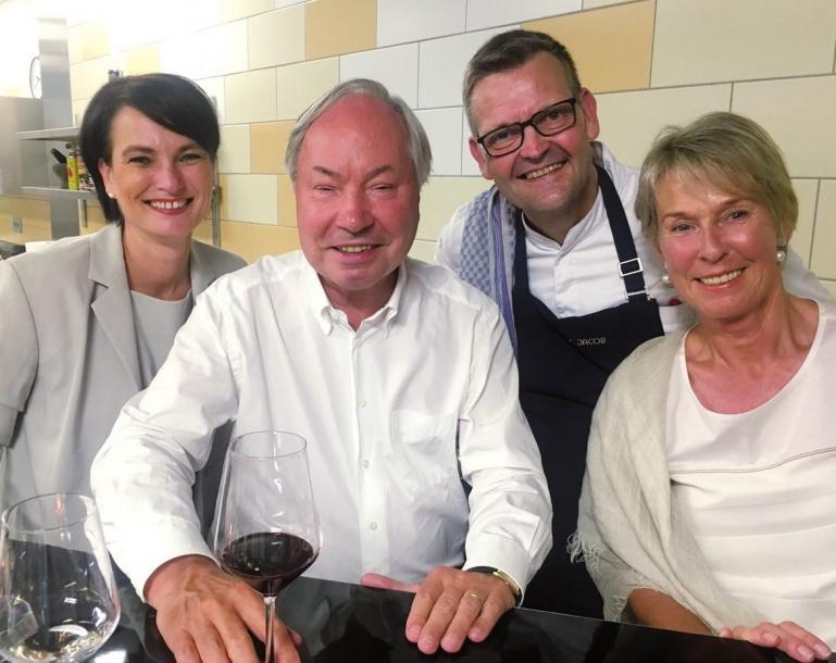 Judith Fuchs-Eckhoff, Ehepaar Ackermann, Thomas Martin (hinten)