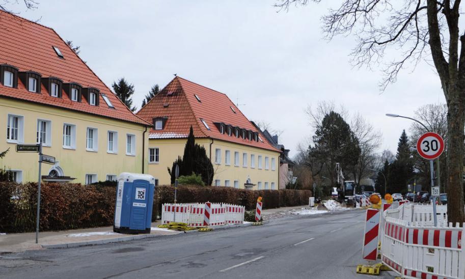 An der Schenefelder Landstraße entsteht eine Querungshilfe für Fußgänger