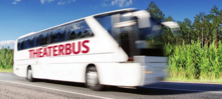 Bequem mit dem Bus ins Theater